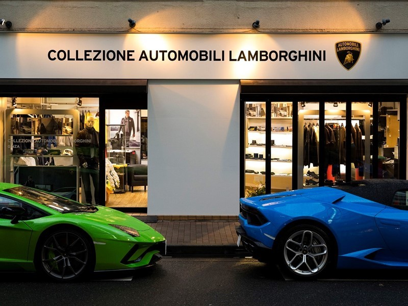 Lamborghini opens its first official store in Japan
