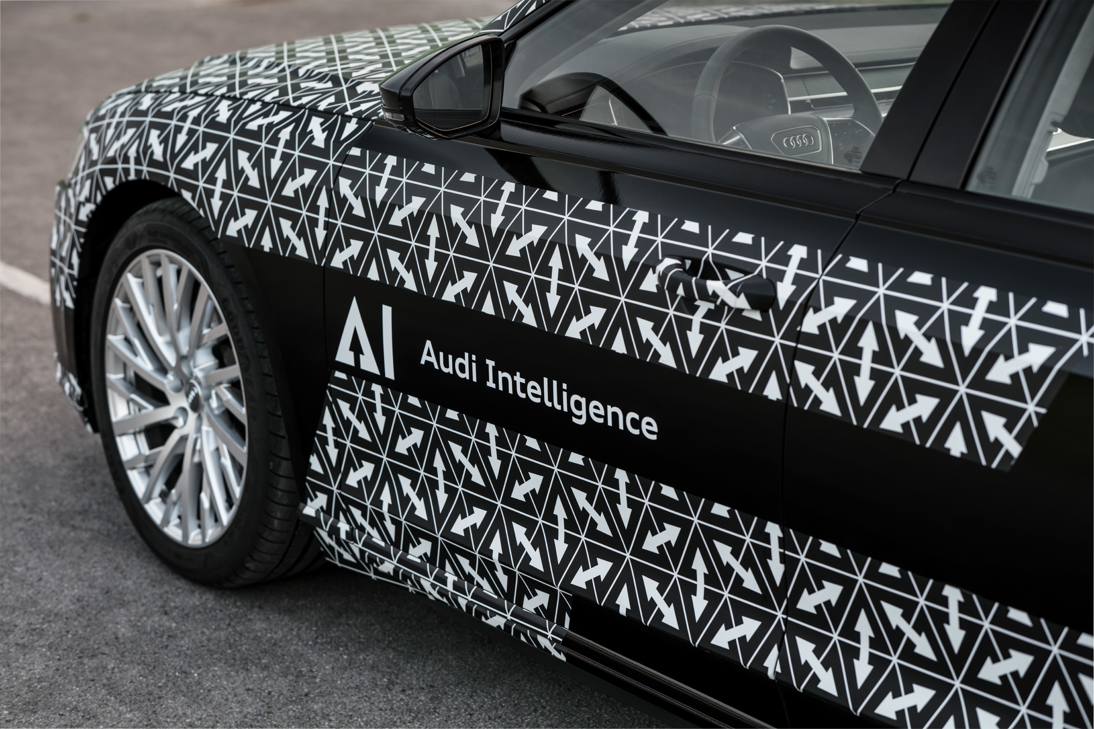 Automated driving at a new level: the Audi AI traffic jam pilot