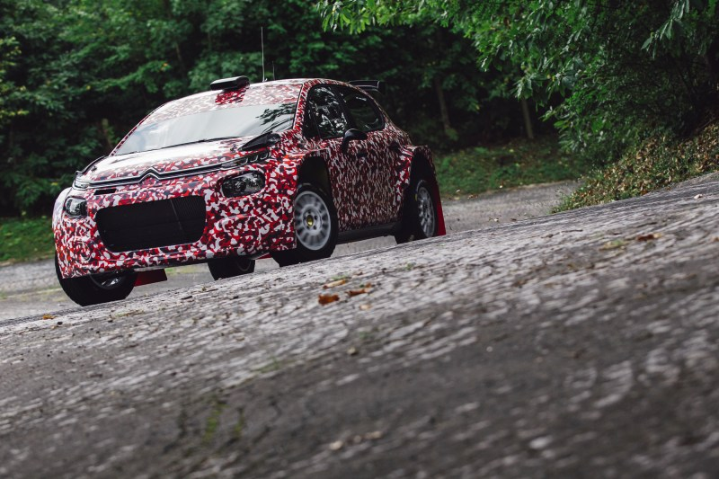 First Development Tests For The Citroën C3 R5!