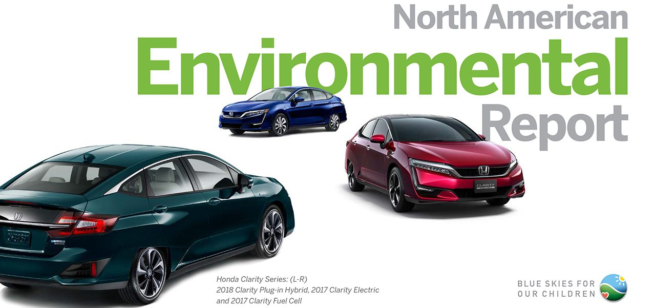 Honda Reports on its Environmental Performance and Progress in North America