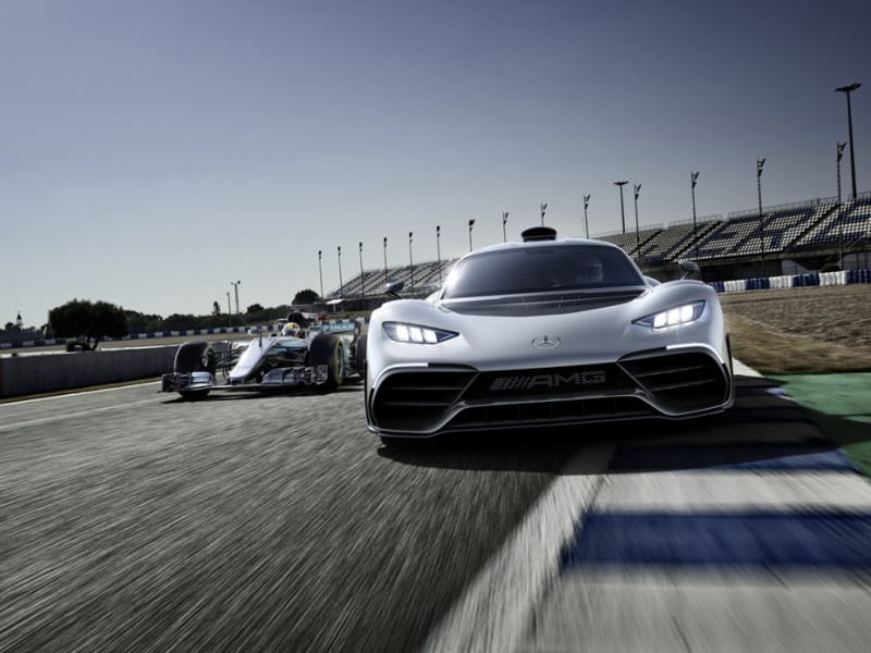 World premiere of the Mercedes-AMG Project ONE show car