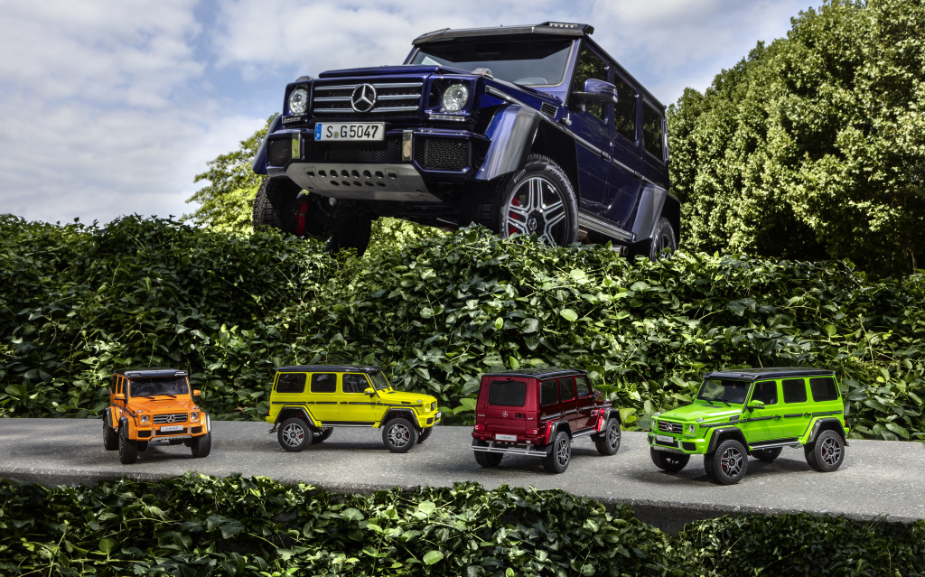 Extreme G-Class Model now available in 1:18: Extreme colours for the extreme G