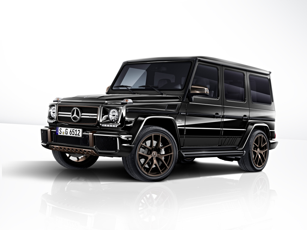 The Mercedes-AMG G 65 Final Edition: Powerful and refined