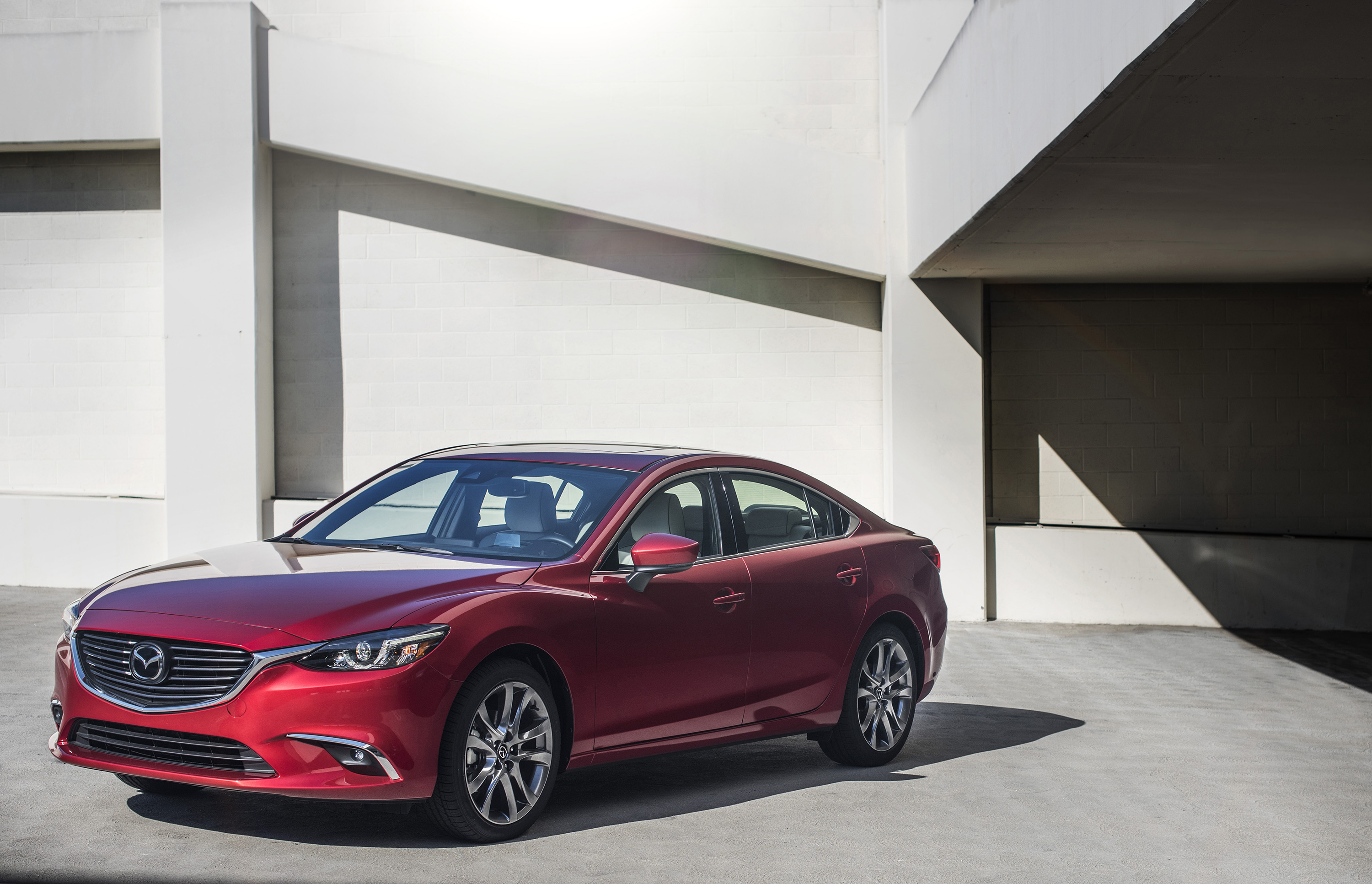 2017.5 Mazda6 Sedan Adds Available Leather to the Core of Mazda's Midsize Mix