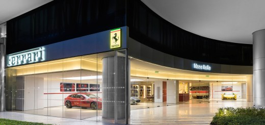 Malaysia's First Ferrari Showroom at Kuala Lumpur Central Business District Opens