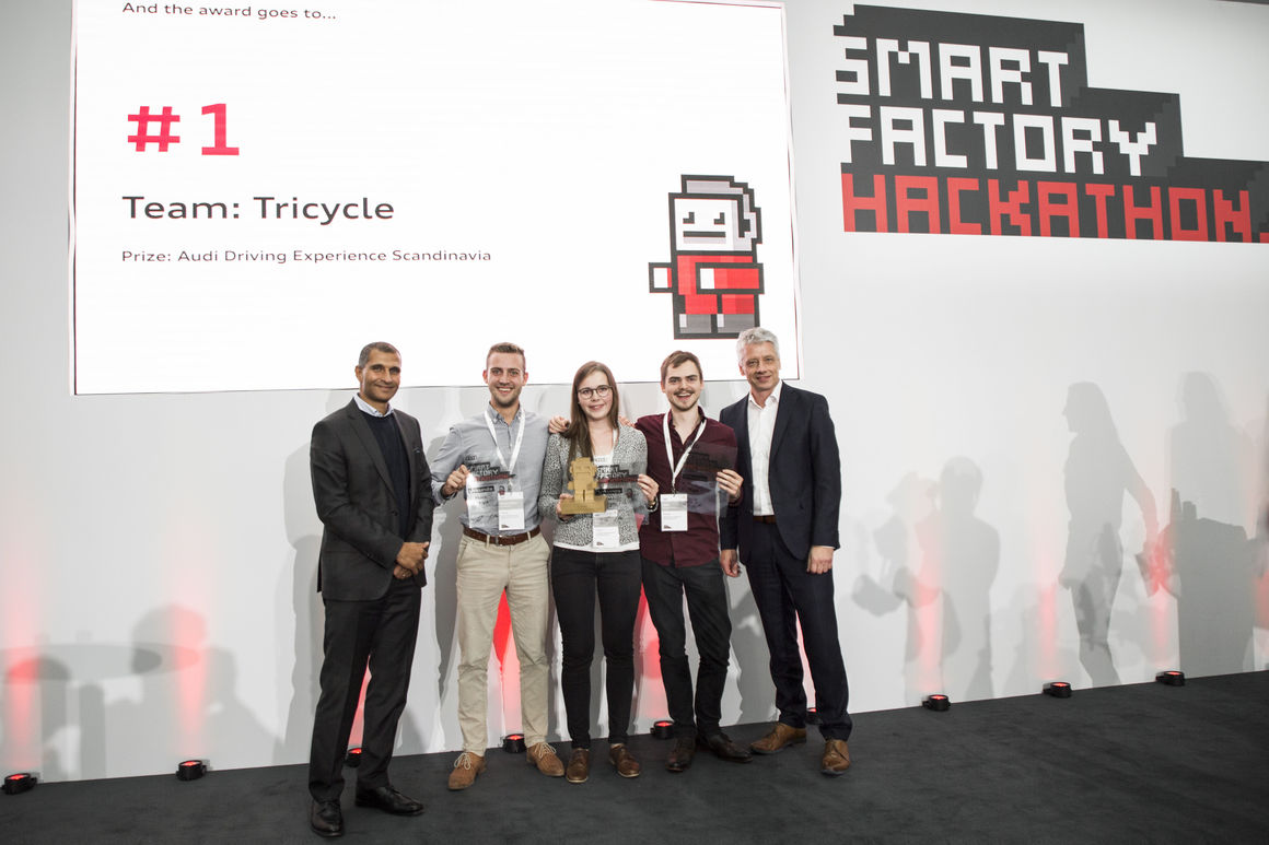 Audi's Smart Factory Hackathon: 25 hours to devise new software ideas