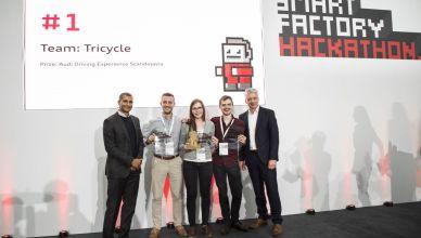 Audi's Smart Factory Hackathon: 25 hours to devise new software ideas