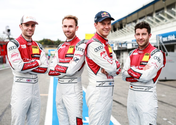 "Perfect ""triple"": Audi claims all three DTM titles"