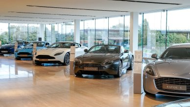Aston Martin And Sytner Launches In Nottingham