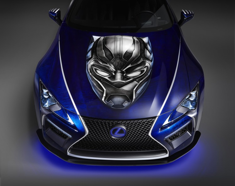 "Lexus Introduces Two New Vehicles Inspired by Marvel Studios' ""Black Panther"" Ahead of SEMA 2017"