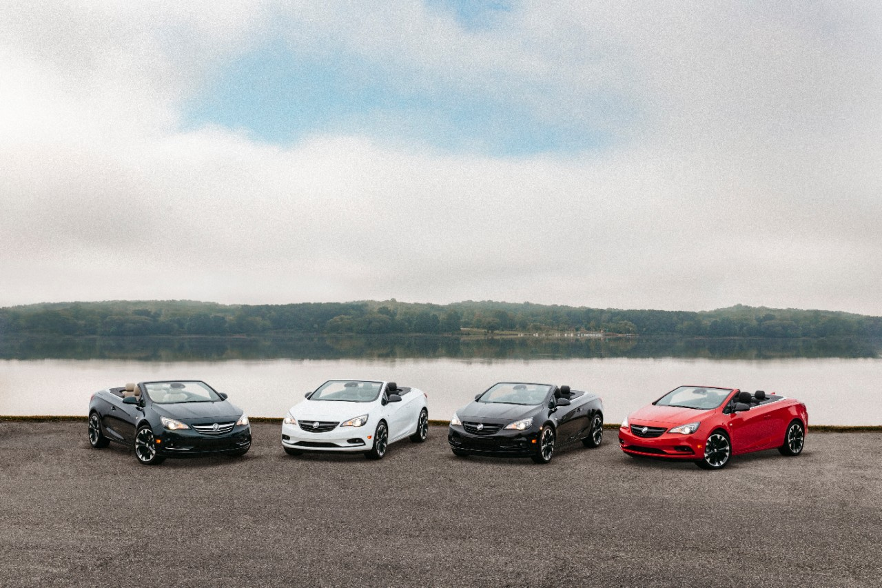 2018 Buick Cascada Gets More Colorful