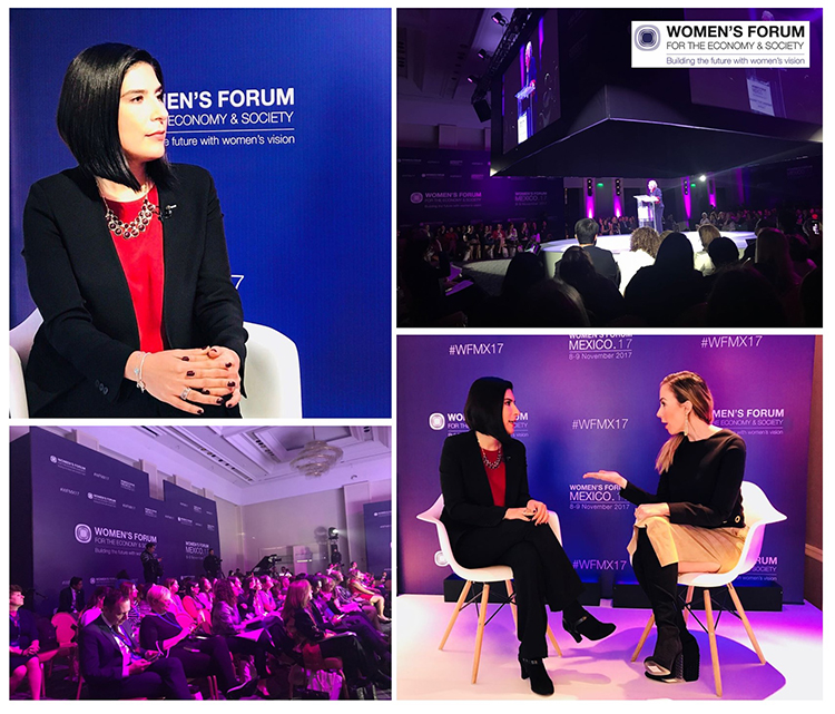 Nissan sponsors Women's Forum Mexico 2017