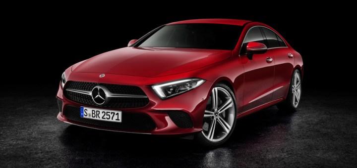 The new Mercedes-Benz CLS