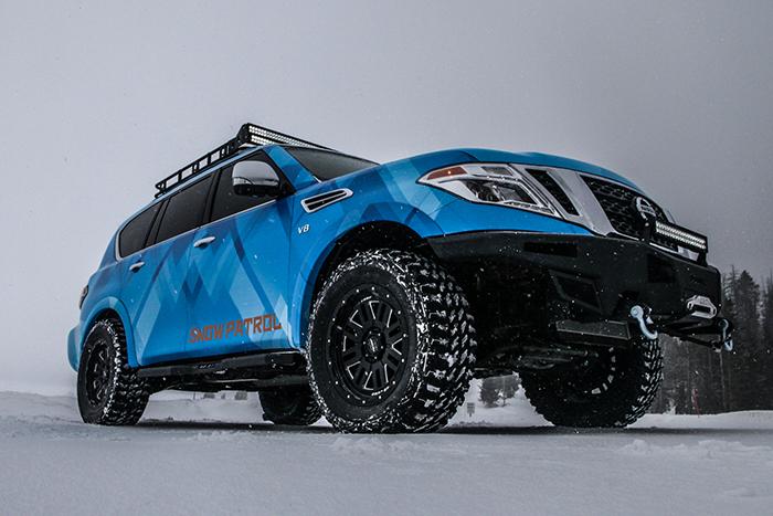 Nissan Armada Snow Patrol debuts at 2018 Chicago Auto Show