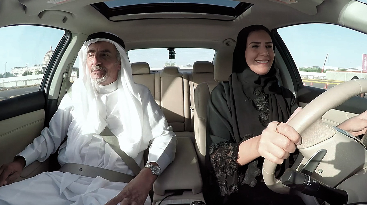 Nissan puts Saudi women behind the wheel with surprise instructors
