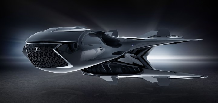 First-Ever Lexus Jet Stars in Sony Pictures' Men in Black: International