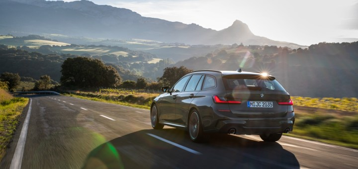 The new BMW 3 Series Touring.