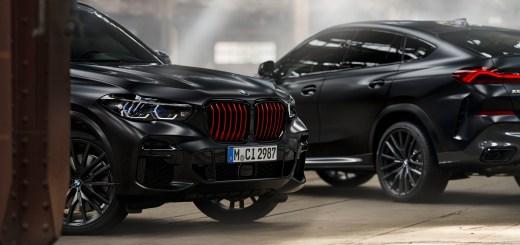 BMW X5 and BMW X6 Black Vermilion editions