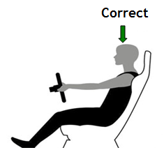 Seated Comfortably While Driving