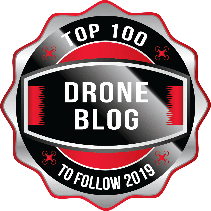 Top 100 Drone Blog 2019 Aware Badge