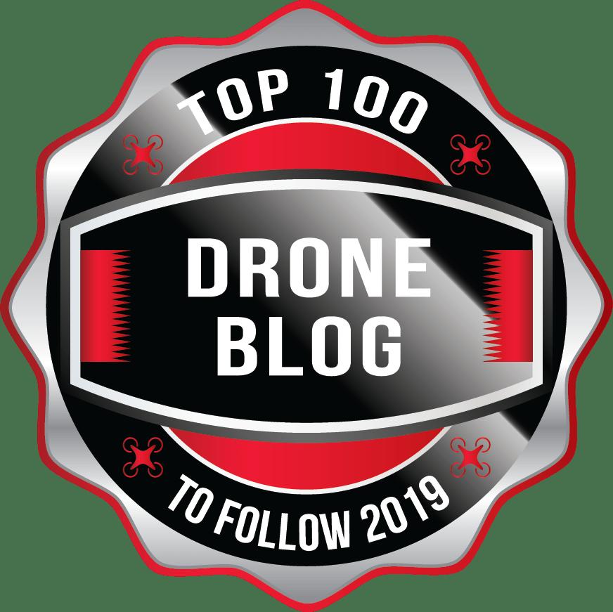 Top 100 Drone Blog 2019 Aware Badge