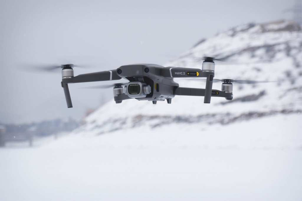 Mavic in snow