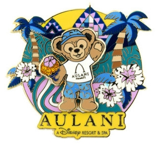 Duffy the Disney Bear Aulani Shaved Ice Pin