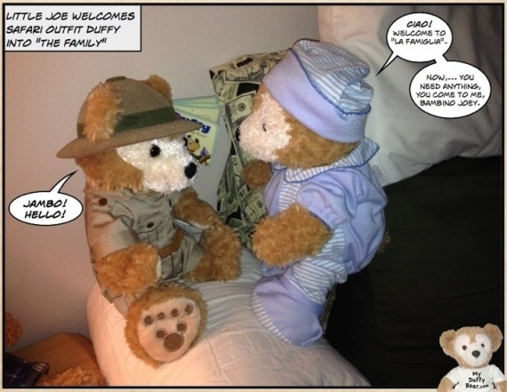 "Duffy the Disney Bear helps 12"" Safari Outfit Duffy the Disney Bear"