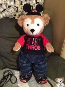 Duffy the Disney Bear Outfit Build-a-Bear Valentines
