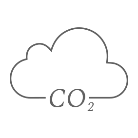 carbon dioxide cloud illustration