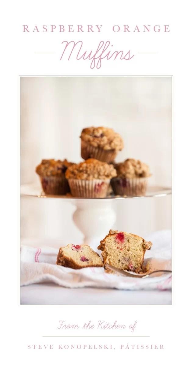 Raspberry Orange Muffins