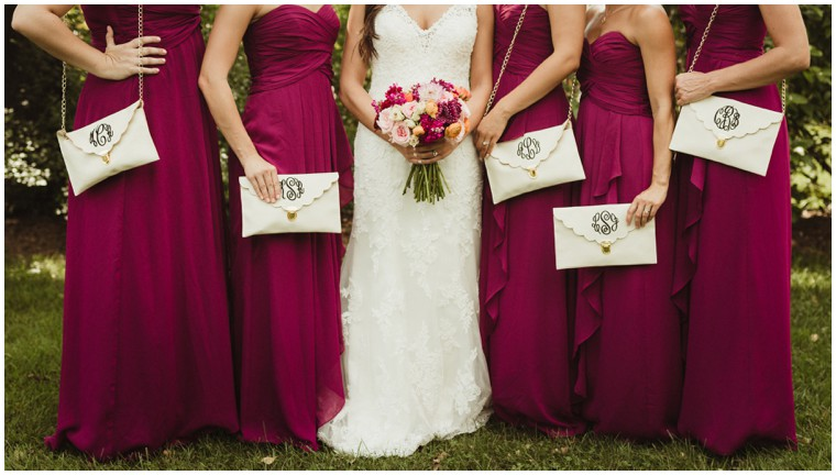 lace wedding gown, bridal party, bridesmaid dresses