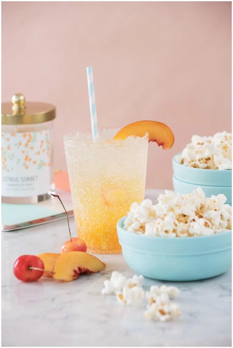 Girls Night Summer Peach Sangria Recipe Pairings