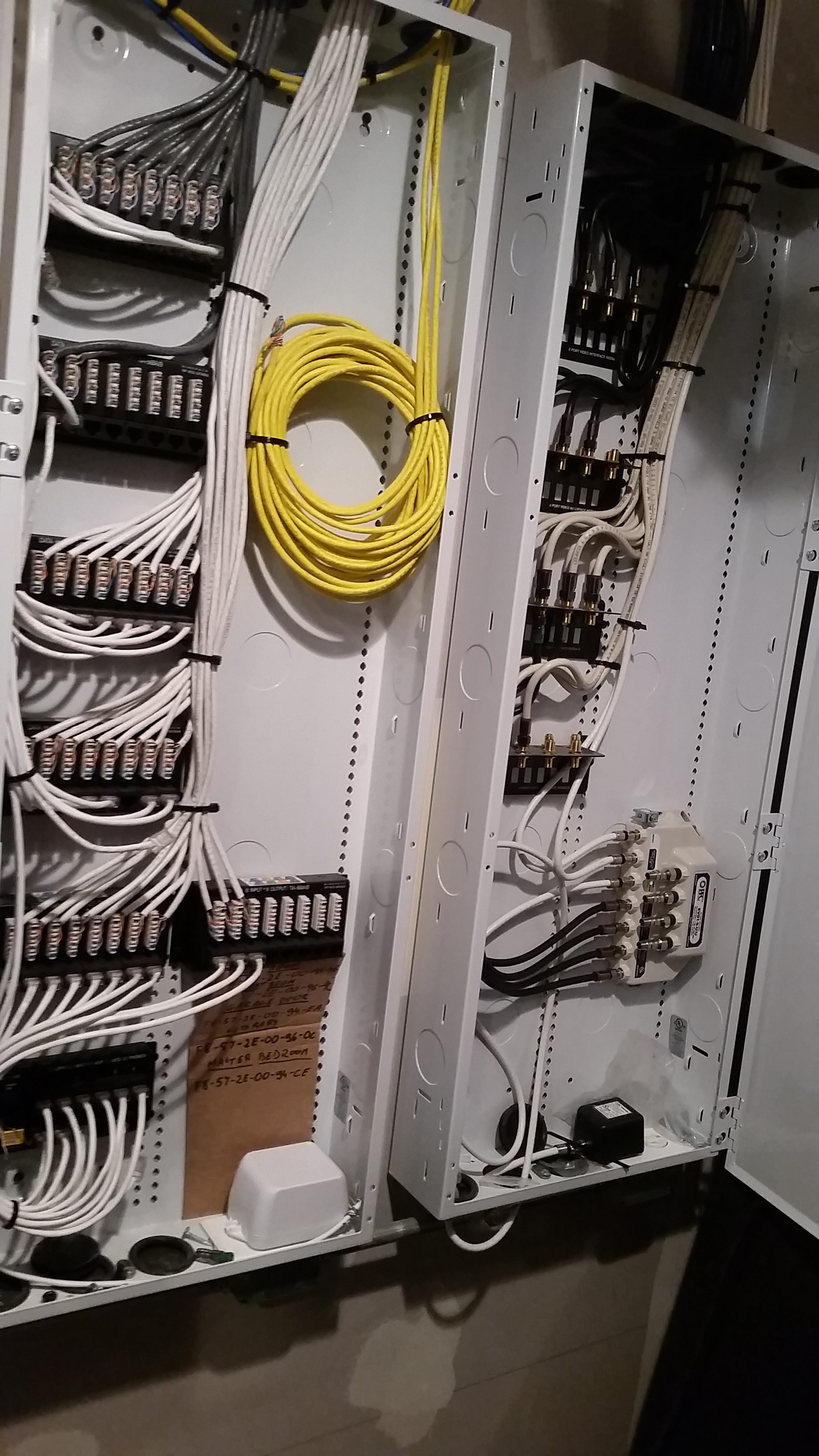 hight resolution of this is the fourth post in a series on how to prewire low voltage wiring and structured cabling in your home we ll be focusing on how to install a