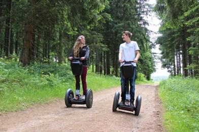 Segway Tour am Schluchsee im Schwarzwald