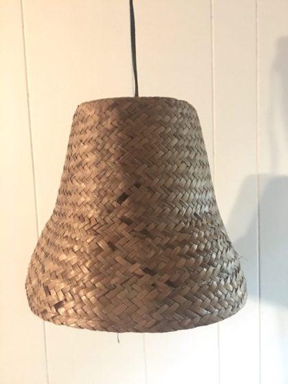 Diy Rattan Pendant Light Home Decor Diy My Eclectic Grace