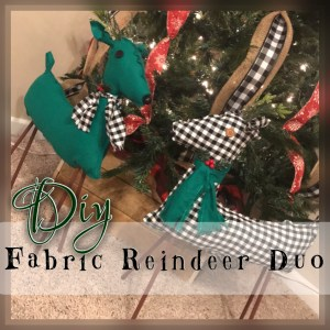 Read more about the article DIY Fabric Reindeer Duo
