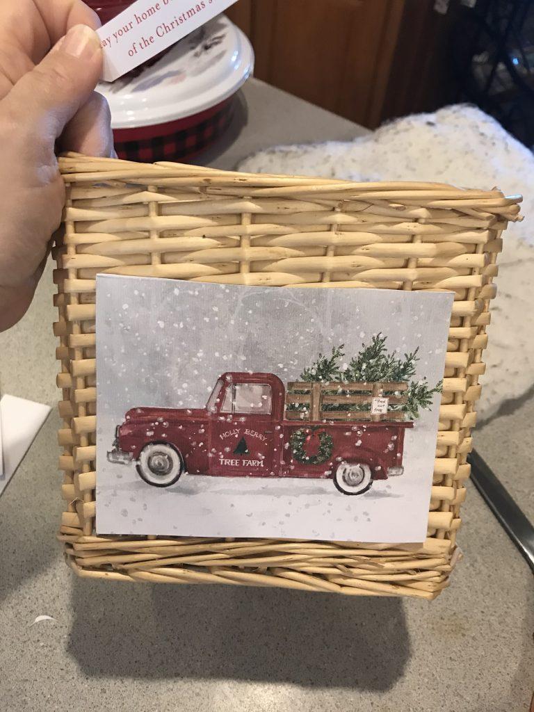 adding image onto basket