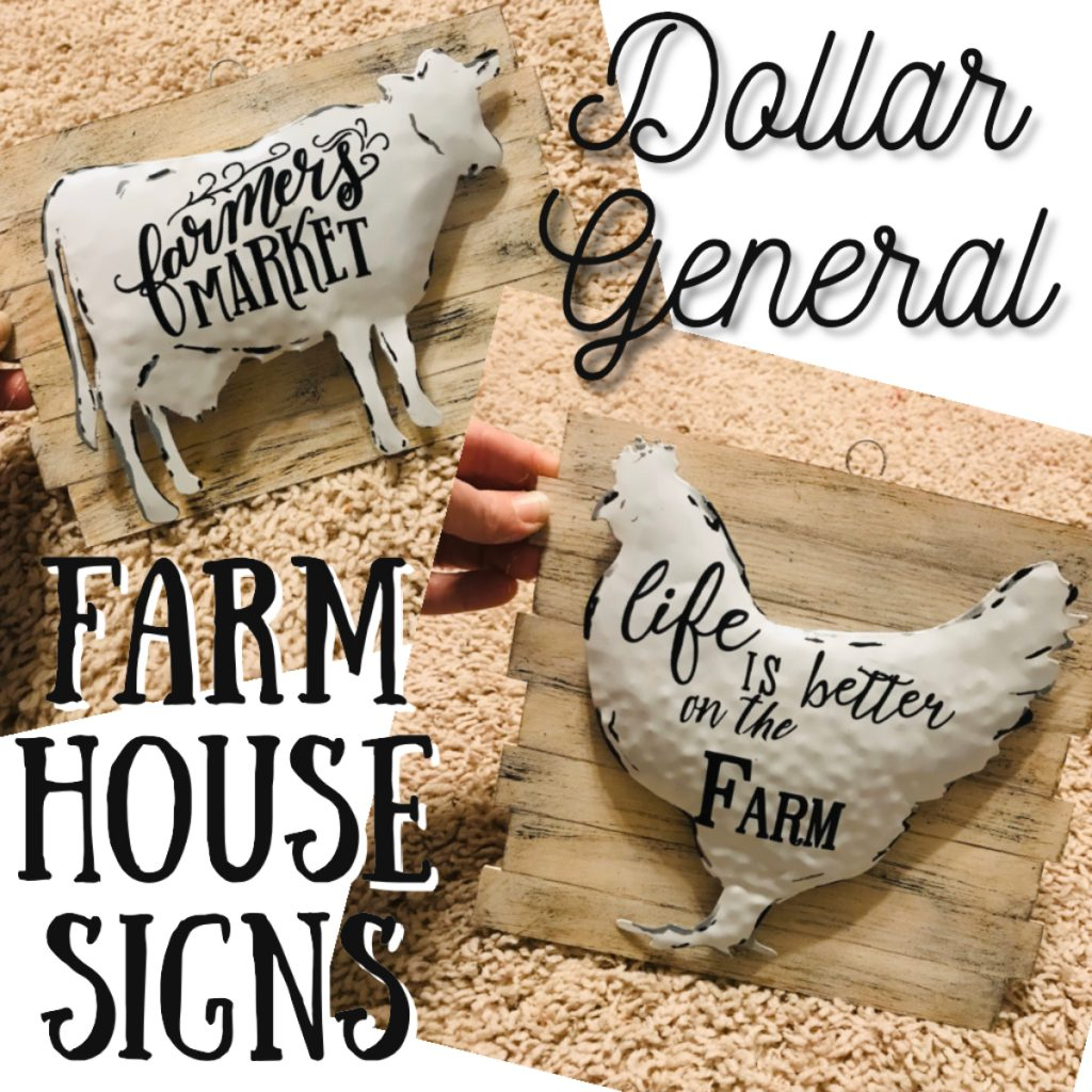 Farm House Signs – Gallery Wall Project