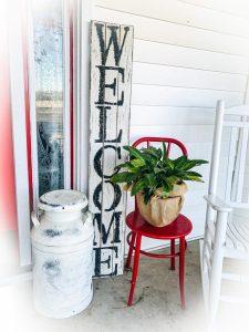 Farmhouse Welcome Porch Sign