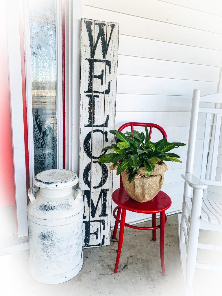 Farmhouse Welcome Porch Sign