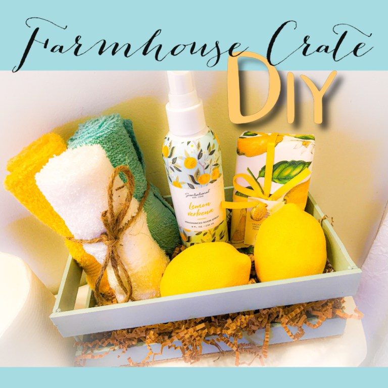build your own wooden crate   wooden crate DIY   farmhouse DIY ideas