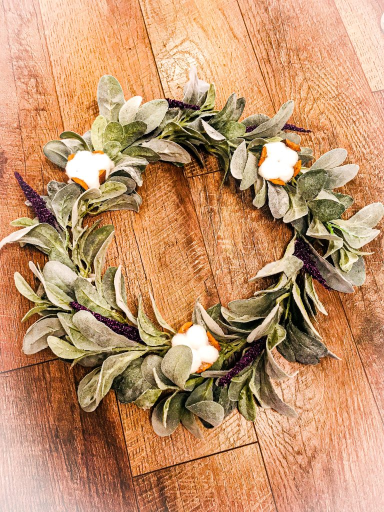 How to Make a Lamb's Ear Wreath