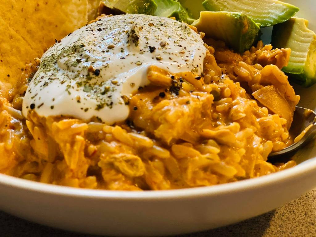 chicken and rice taco soup recipe