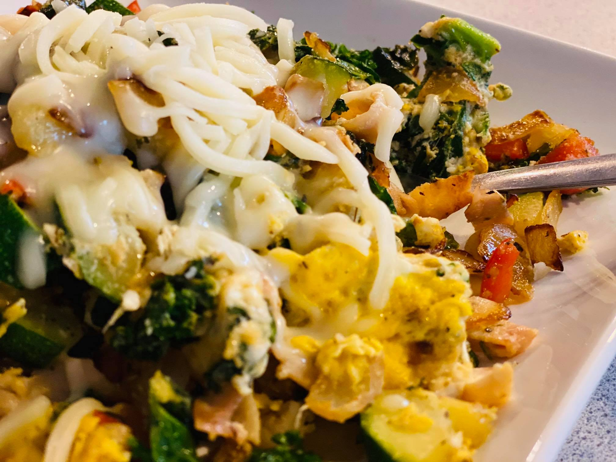 Veggie Sauté Breakfast Scramble – A Healthy Way to Start Your Day!