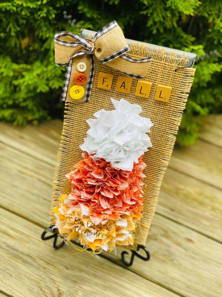 rag candy corn #ragcandycorn