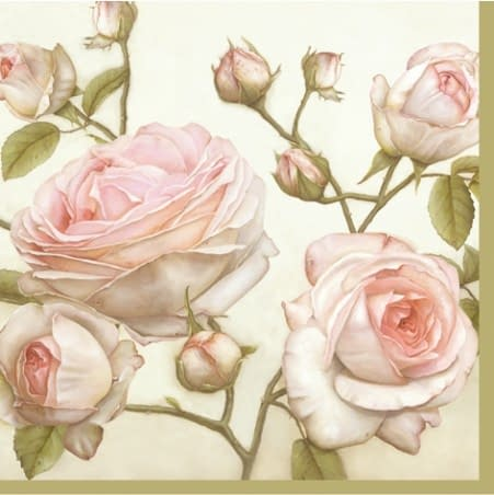 rose napkins from European Excellency #Europeanexcellencynapkins
