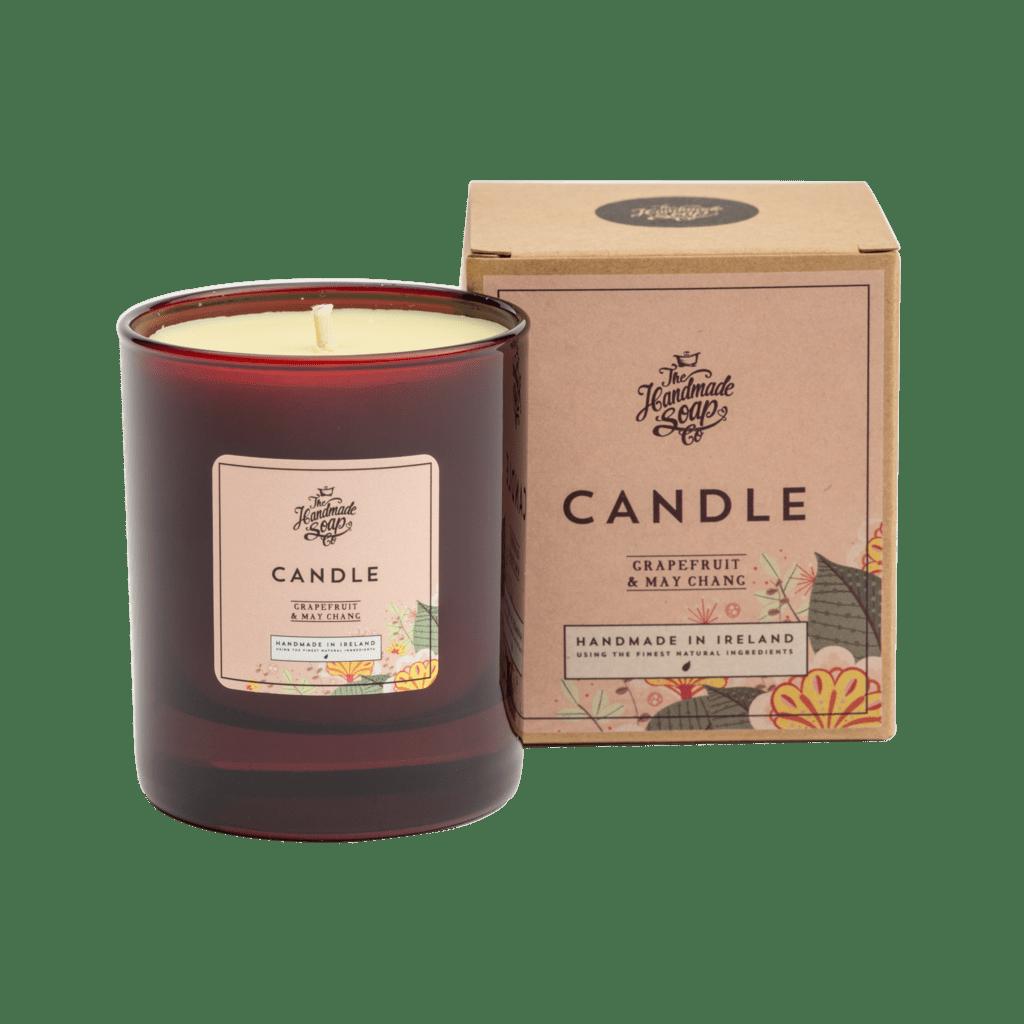 Grapefruit & May Chang Candle