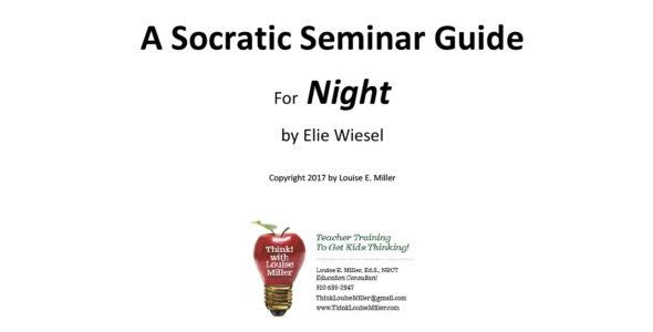 A Socratic Seminar Guide for Night