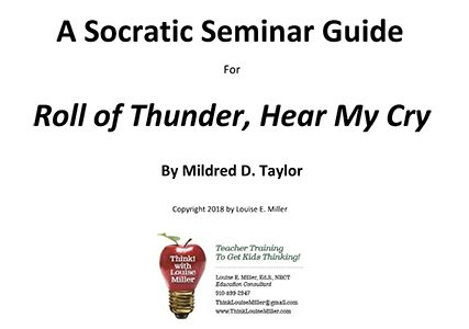 A Socratic Seminar Guide for Roll of Thunder, Hear My Cry